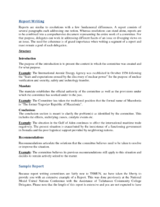 Template Of A Report Writing, College Paper Sample – Tete-De within Template On How To Write A Report