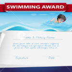 Free Swimming Certificate Templates