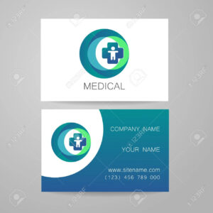 Template Of Medical Business Cards. with regard to Medical Business Cards Templates Free