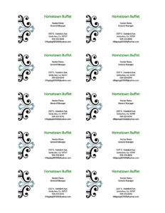 Templates For Business Cards Microsoft Office – Caquetapositivo intended for Microsoft Templates For Business Cards