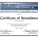 Templates Of Certificate Attendance Template Word For inside Certificate Of Attendance Conference Template