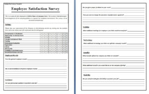 Templates | Survey Templates And Worksheets regarding Poll Template For Word