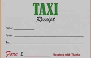Ten Reasons Why Taxi Cab Receipt Template Is | Invoice Form intended for Blank Taxi Receipt Template