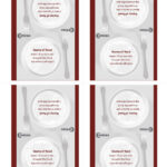 Tent Cards Intended For Table Tent Template Word