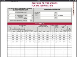 Testing Wiring With A Megger – Electrician Talk pertaining to Megger Test Report Template
