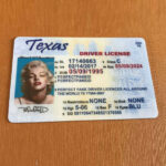 Texas, Tx, Best, Quality, Dl, Id, Driver's License, Novelty Within Texas Id Card Template