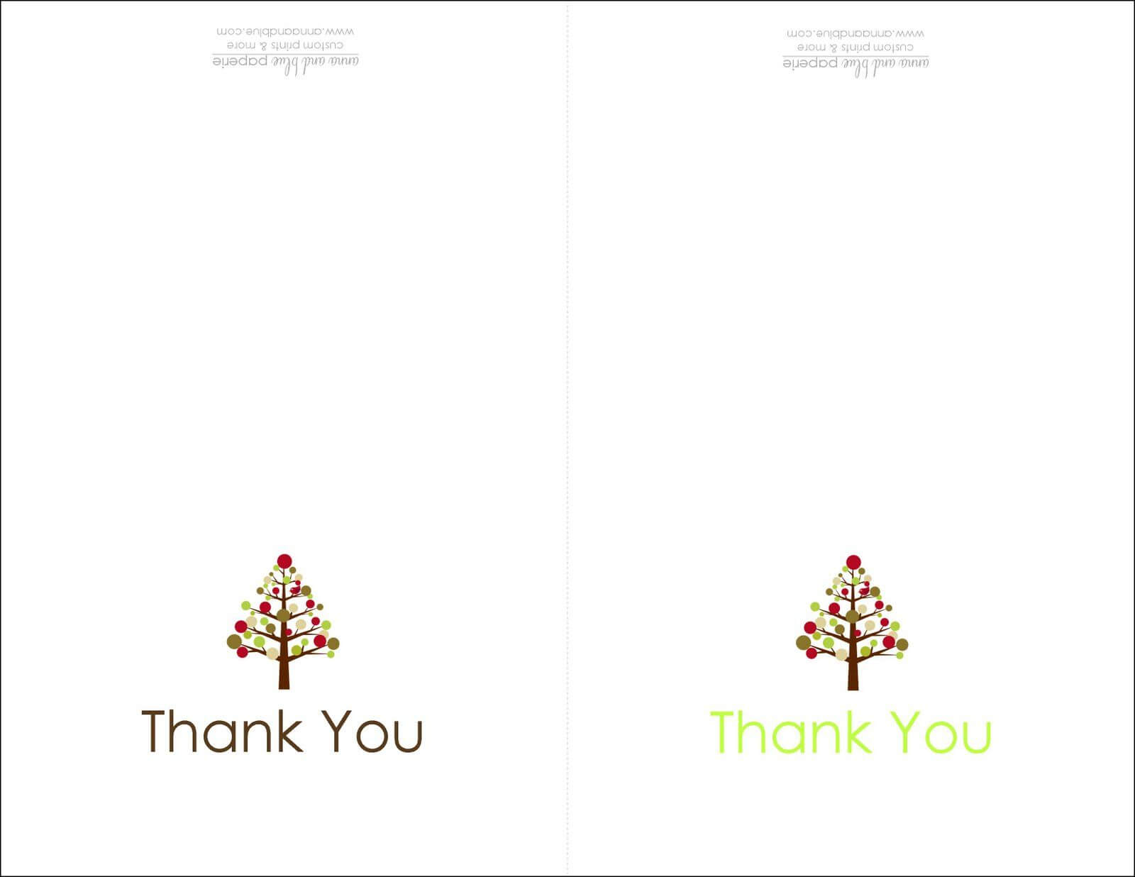Thank You Cards Printable | Printable | Thank You Card In Christmas Thank You Card Templates Free