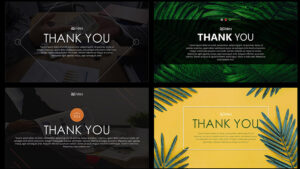 Thank You Slide Free Powerpoint Template throughout Powerpoint Thank You Card Template