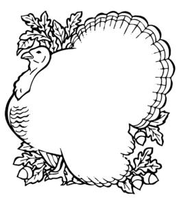 Thanksgiving Blank – /holiday/thanksgiving inside Blank Turkey Template