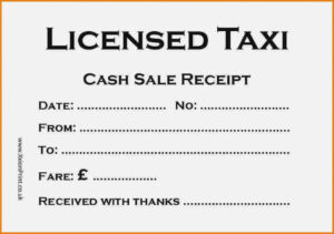 The 14 Common Stereotypes | Realty Executives Mi : Invoice throughout Blank Taxi Receipt Template