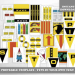The Amazing Race Party Printables — Digital — Customizable Clue Cards And  Invitation, Envelopes, Signs, And More Regarding Clue Card Template