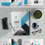 The Annual Report Template #brochure #template #indesign In Annual Report Template Word Free Download