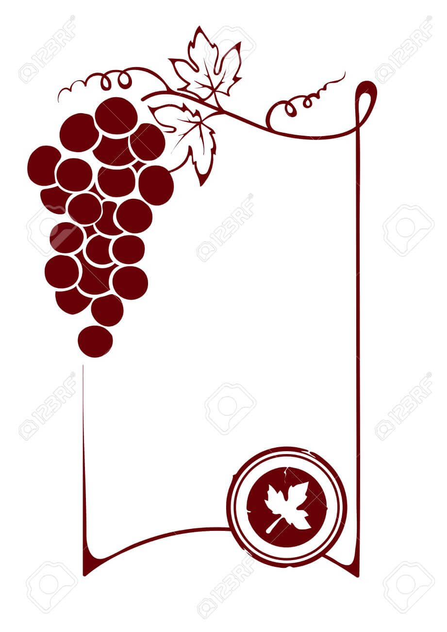 The Blank Wine Label With Blank Wine Label Template