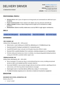 The Combination Resume: Examples, Templates, & Writing Guide Within Combination Resume Template Word
