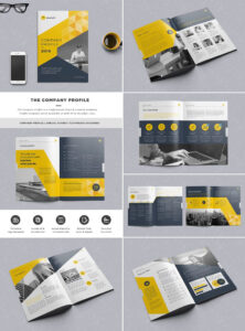 The Company Profile Indesign Template | Work | Company within Brochure Templates Free Download Indesign