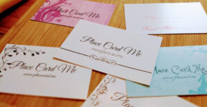 The Definitive Guide To Wedding Place Cards | Place Card Me for Michaels Place Card Template
