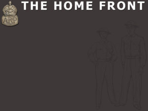 The Home Front Powerpoint Template | Adobe Education Exchange with regard to World War 2 Powerpoint Template