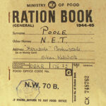 The Olde Curiosity Blog: #ww2 Rationing In The Second World Within World War 2 Identity Card Template