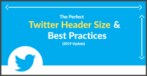 The Perfect Twitter Header Size & Best Practices (2019 Update) Intended For Facebook Banner Size Template