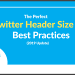 The Perfect Twitter Header Size & Best Practices (2019 Update) With Regard To Twitter Banner Template Psd
