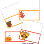 Thanksgiving Place Card Templates