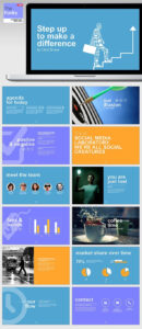 Thefunky Powerpoint Template – Business Powerpoint Templates regarding Multimedia Powerpoint Templates