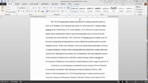 Thesis Formatting: Ms Word Tips throughout Ms Word Thesis Template