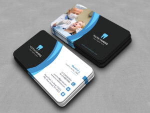 This Is A Dental Business Card Template. This Template throughout Visiting Card Illustrator Templates Download