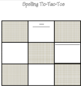 Tic Tac Toe Template In Word And Pdf Formats For Tic Tac Toe Template Word