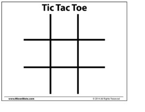 Tic Tac Toe Template | Trafficfunnlr Intended For Tic Tac Toe Template Word