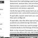 Tips For Creating A Strong Cybersecurity Assessment Report Throughout Threat Assessment Report Template