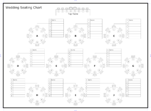 Tips To Seat Your Wedding Guests | Organized | Seating Chart throughout Wedding Seating Chart Template Word