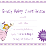 Tooth Fairy Certificate … | Yaidies Fairy | Tooth Fairy Intended For Free Tooth Fairy Certificate Template