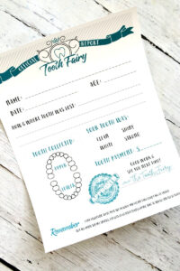 Tooth Fairy Free Printable Certificate inside Free Tooth Fairy Certificate Template