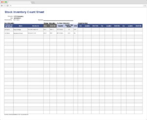 Top 10 Inventory Excel Tracking Templates – Blog Sheetgo Within Stock Analysis Report Template