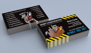 Top 28 Examples Of Unique Construction Business Cards within Plastering Business Cards Templates