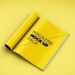 Top 30+ Magazine Psd Mockup Templates In 2019 – Colorlib Inside Blank Magazine Template Psd