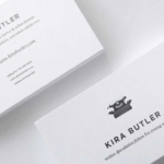Top 32 Best Business Card Designs & Templates regarding Designer Visiting Cards Templates