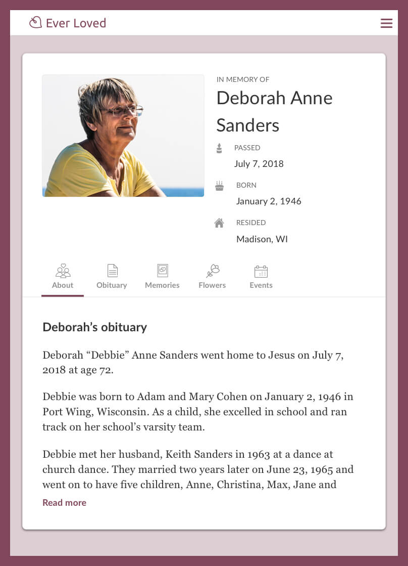 Top Free Obituary Templates | Ever Loved Inside Fill In The Blank Obituary Template