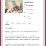 Top Free Obituary Templates   Ever Loved Throughout Fill In The Blank Obituary Template