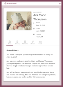 Top Free Obituary Templates | Ever Loved Throughout Fill In The Blank Obituary Template