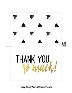 Top Free Printable Thank You Card Template Word in Free Printable Thank You Card Template