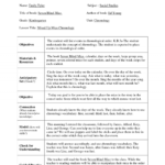 Top Madeline Hunter Lesson Plan Kindergarten Madeline Hunter Within Madeline Hunter Lesson Plan Blank Template