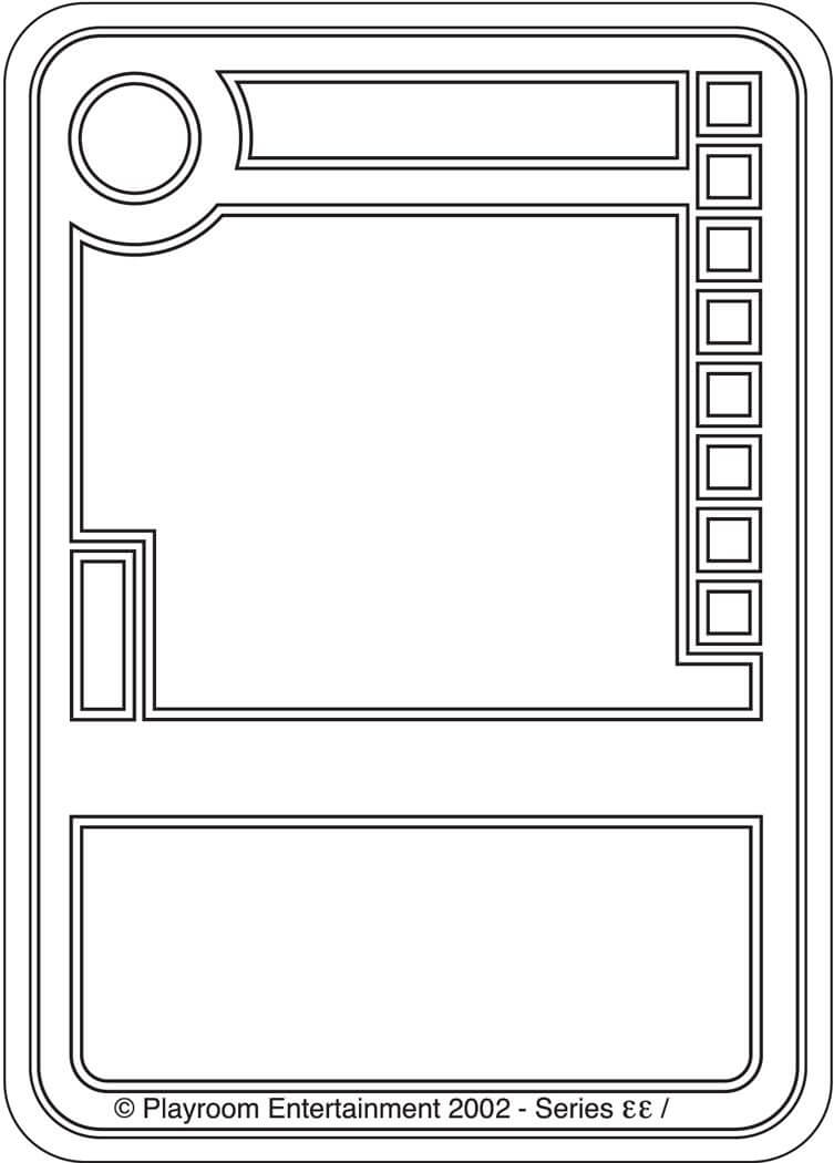 Trading Card Game Template | Theveliger For Template For Game Cards