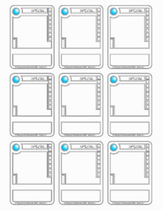 Trading Card Template (3) | Payroll Check Stubs intended for Trading Card Template Word