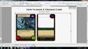 Trading Card Template Word | Template Business in Baseball Card Template Word