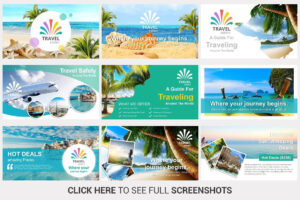 Travel Agency Powerpoint Templateslidesalad On throughout Tourism Powerpoint Template