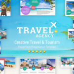 Travel And Tourism Powerpoint Presentation Template - Yekpix regarding Powerpoint Templates Tourism