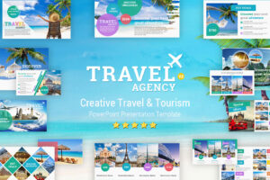 Travel And Tourism Powerpoint Presentation Template - Yekpix throughout Tourism Powerpoint Template