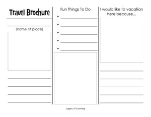 Travel Brochure | Homeschool – Science | Travel Brochure within Travel Brochure Template For Students